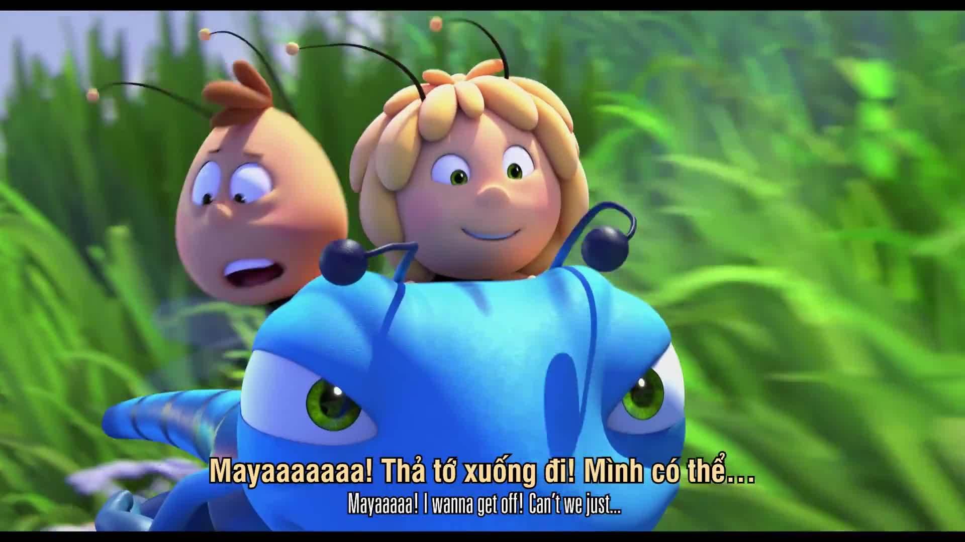 Trailer Maya the Bee: The Honey Games (Ong nhí phiêu lưu ký)