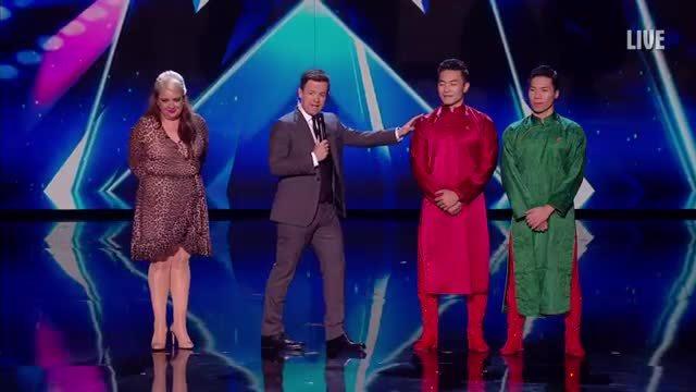 Quốc Cơ, Quốc Nghiệp vào chung kết Britain's Got Talent