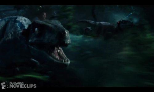 Các con Velociraptor chiến đấu cùng Owen tong Jurassic World