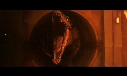 Cảnh của Baryonyx trong phim Jurassic World 2