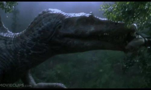 Spinosaurus săn mồi (Jurassic Park III - 2001)