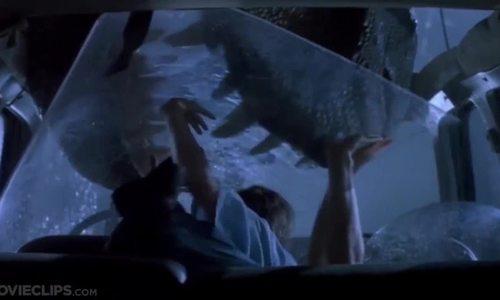 T-rex trốn thoát (Jurassic Park)