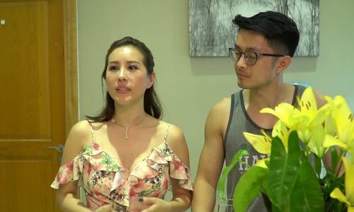 Hoa hậu Thu Hoài sống với bạn trai, hai con ở