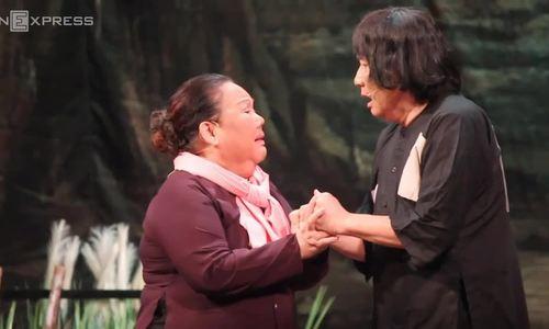 NSƯT Minh Vương ca, diễn trong 'Đời cô Lựu' hồi tháng 1