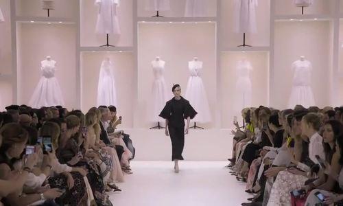 Dior couture Thu Đông 2018