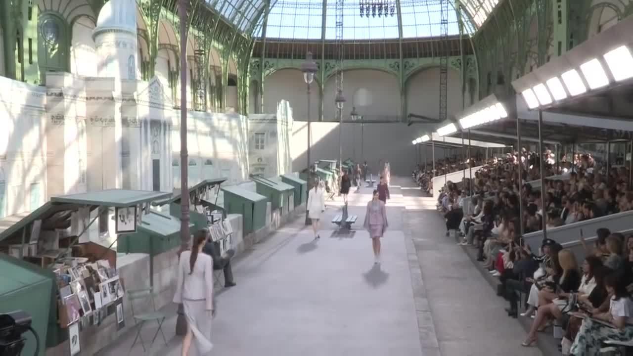 Chanel couture Thu Đông 2018