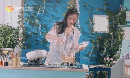 Thư Kỳ làm đầu bếp