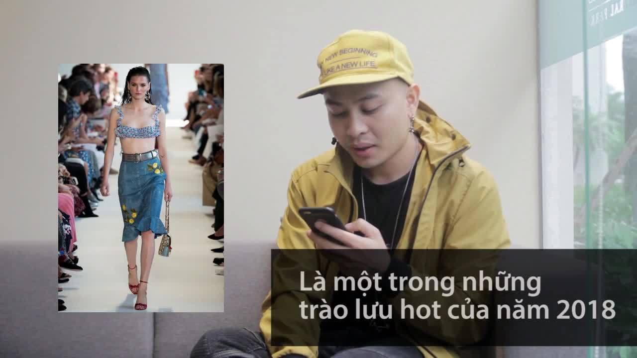 Người Việt bình luận về mốt mặc áo lót ra đường