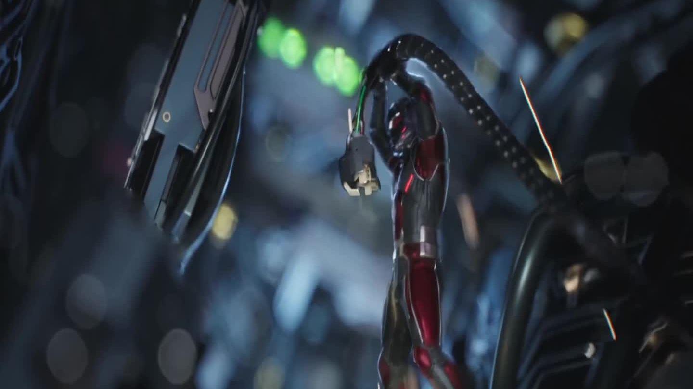 Ant-Man đấu Iron Man (phim Captain America: Civil War)
