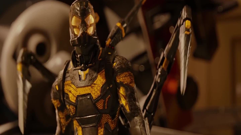 Ant-Man đấu Yellowjacket (phim Ant-Man)