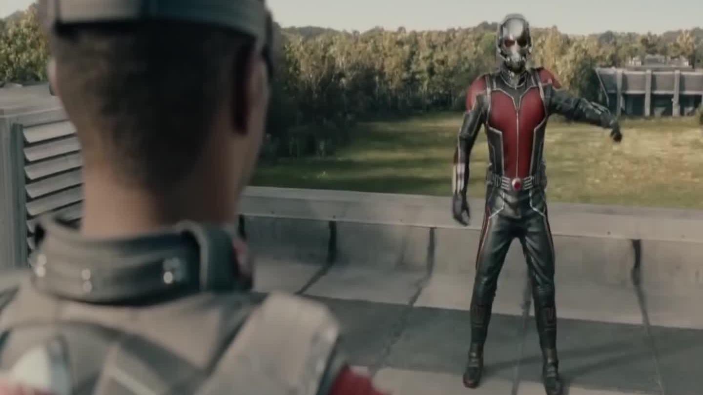 Ant-Man đọ sức Falcon (phim Ant-Man)