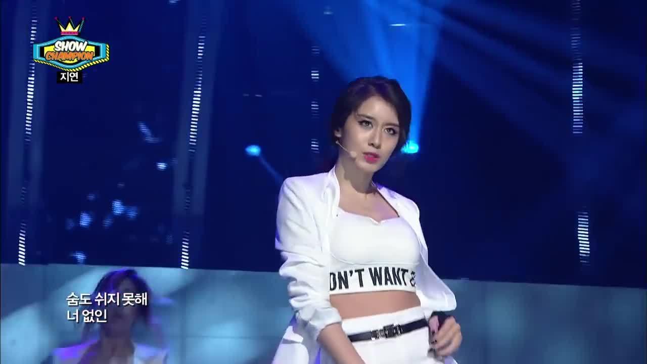 JiYeon hát và nhảy sexy