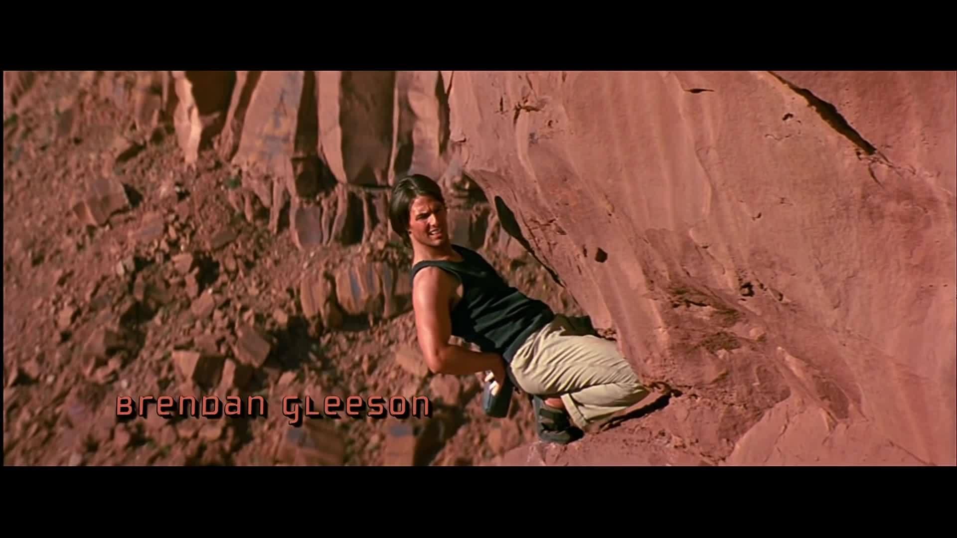 Leo vách núi trong Mission: Impossible 2