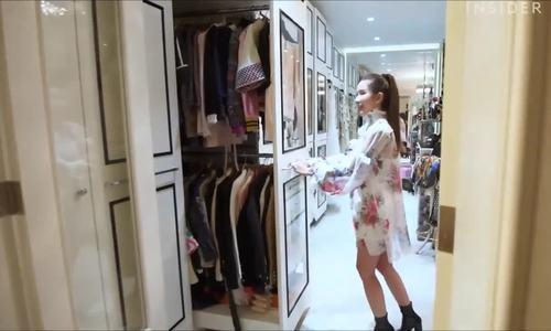 Phòng chứa 200 túi Hermes, 300 đôi giày hiệu của tỷ phú Singapore