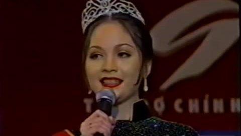 Thiên Nga thời còn là đương kim Hoa hậu Việt Nam