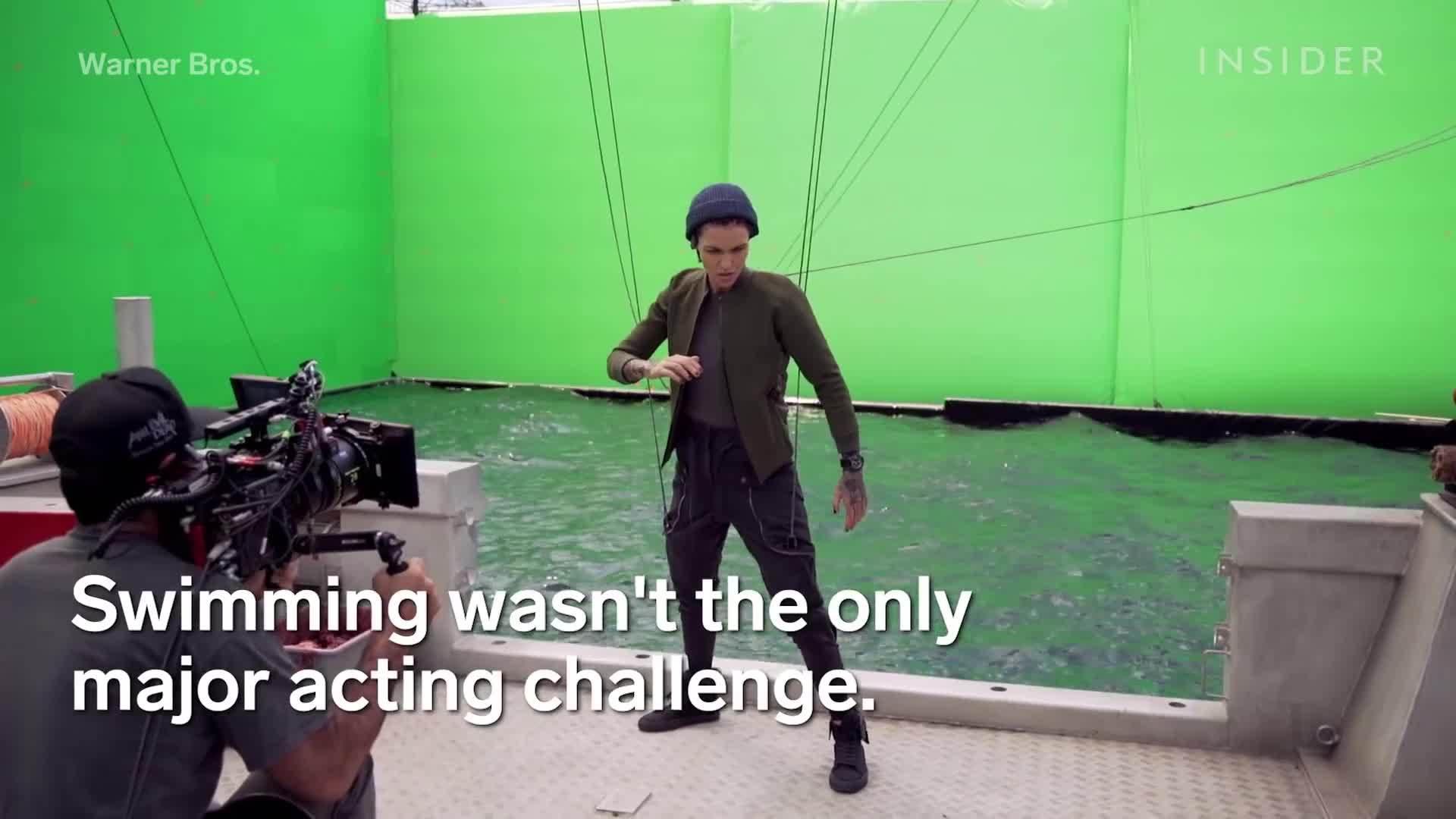 Cách phim The Meg của Jason Statham quay dưới nước