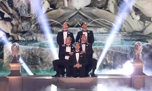 Màn phun nước 'America's Got Talent'