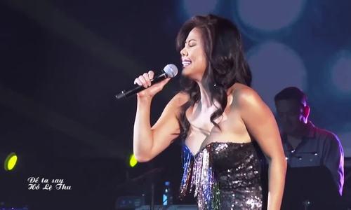 """Hồ Lệ Thu hát """"Để ta say''"""