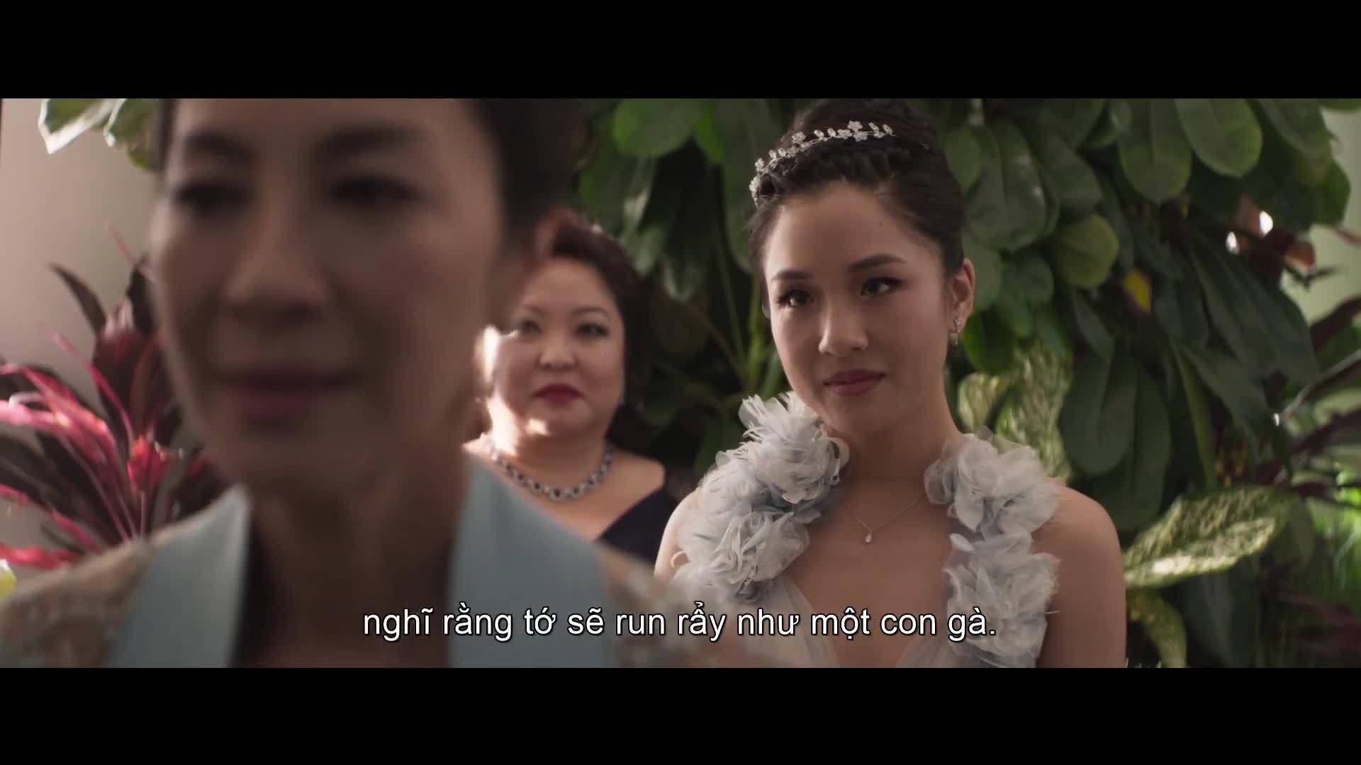 Trailer Crazy Rich Asians Con nhà siêu giàu châu Á