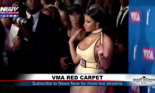 Nicki Minaj ở thảm đỏ VMAs 2018