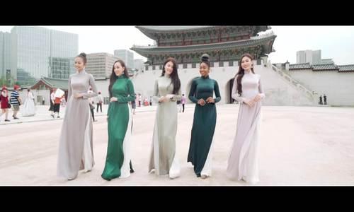 15 người đẹp mặc áo dài ở Hàn Quốc