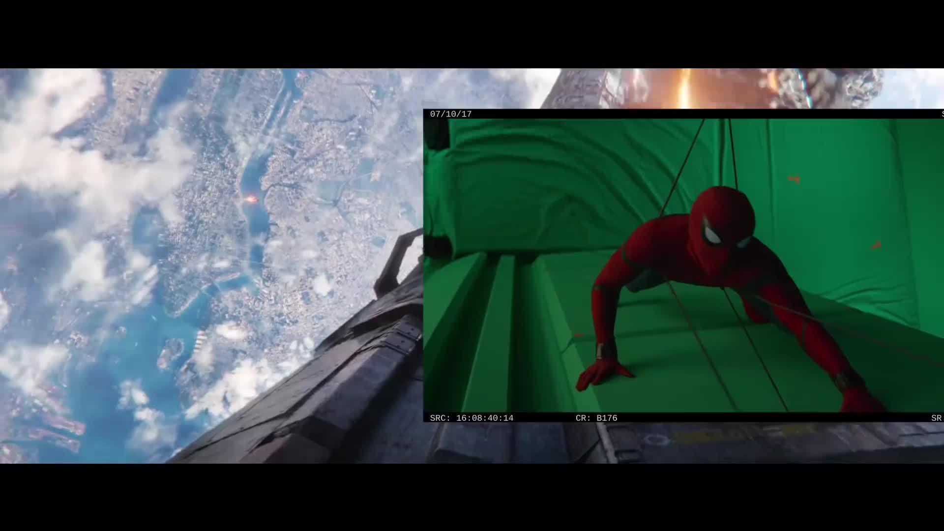 """Một số cảnh phim """"Avengers: Infinity War"""" khi không có kỹ xảo"""