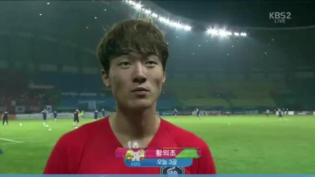 Hwang Ui Jo trả lời phỏng vấn sau cú hat-trick vào lưới Uzbekistan