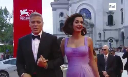Amal Clooney Venice 2017
