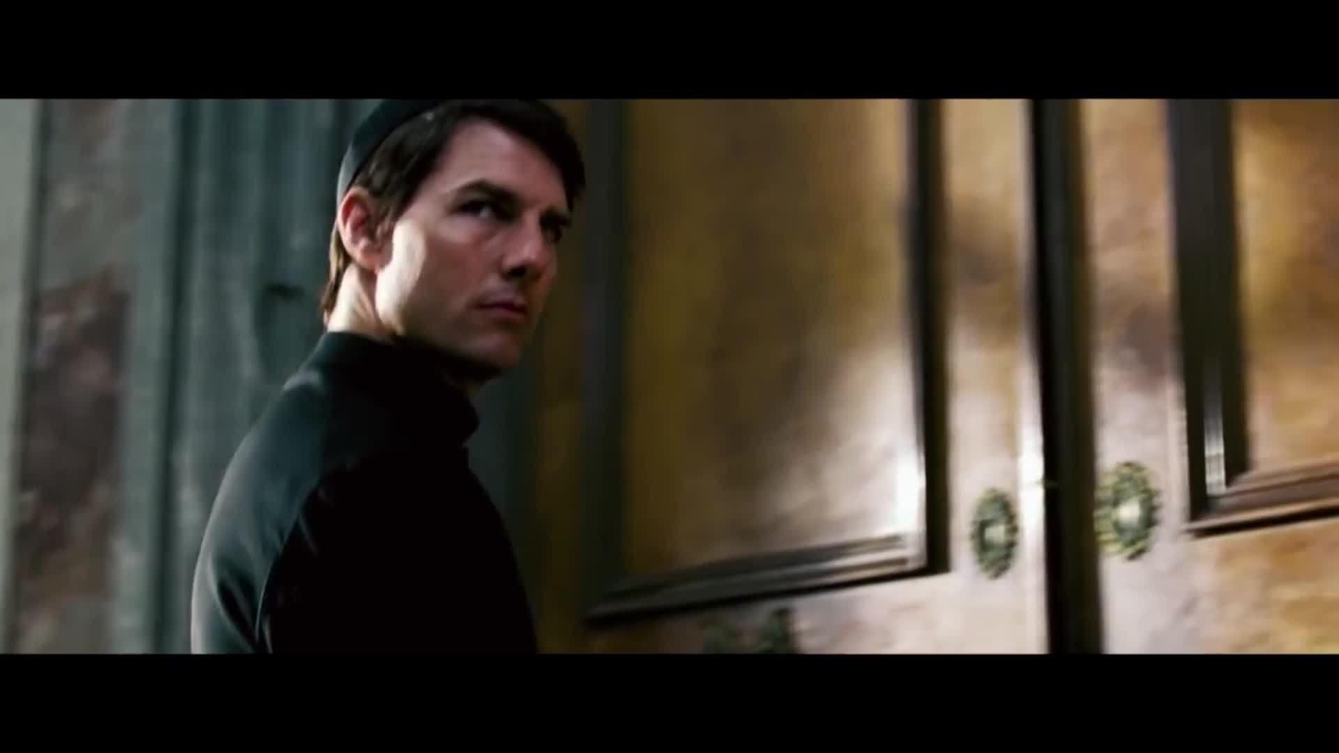 """Cảnh hành động của Tom Cruise trên nền nhạc """"Mission: Impossible"""""""