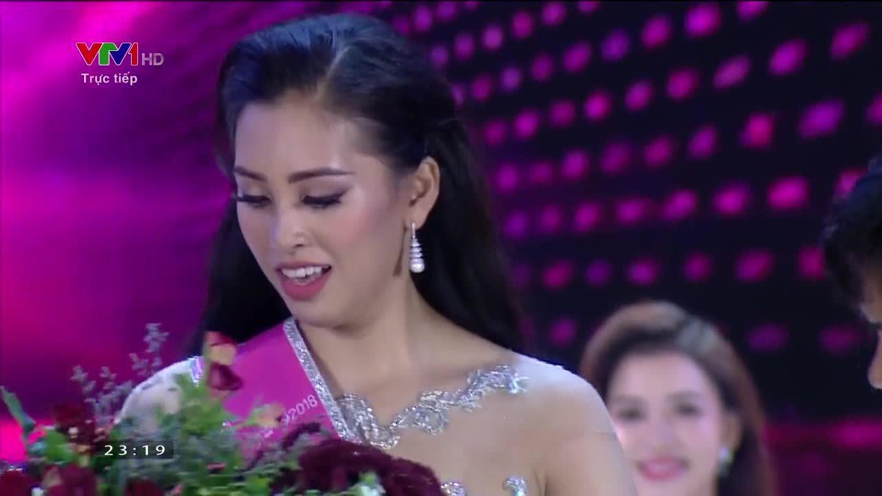 Trần Tiểu Vy đăng quang Hoa hậu Việt Nam 2018 (VnE)