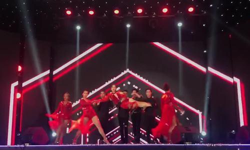 Á hậu Phương Nga nhảy sexy tại Hoa hậu Việt Nam