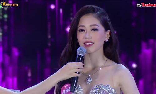Phần thi ứng xử của Phương Nga tại Hoa hậu Việt Nam 2018