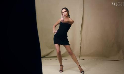 Victoria Beckham chụp hình cho Vogue kỷ niệm 10 năm sự nghiệp