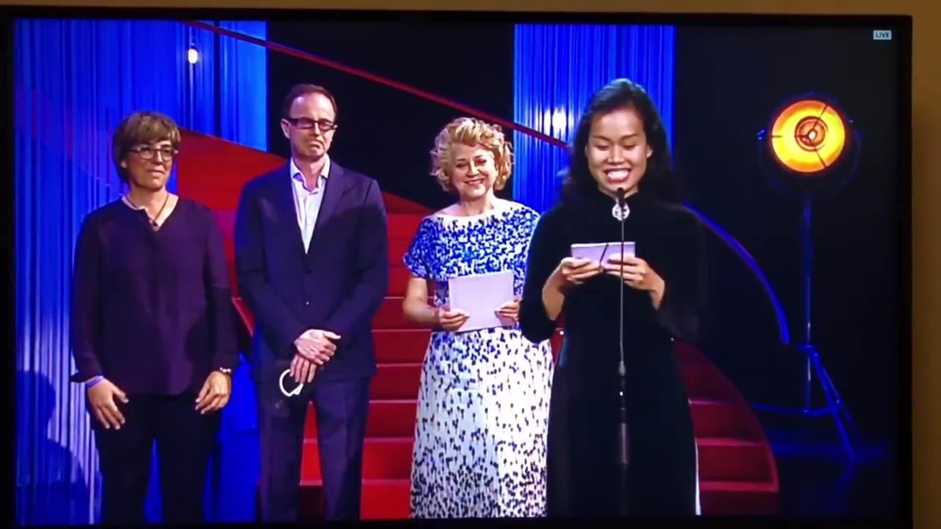 Nguyễn Phương Anh chia sẻ khi thắng giải ở San Sebastian với phim Người vợ ba