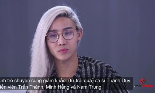 Minh Hằng bật khóc khi mẫu lưỡng tính Mid Nguyễn kể đời tư