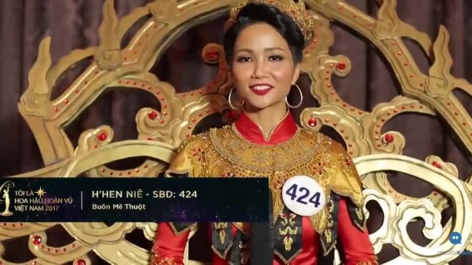 H'Hen Niê nói tiếng Anh