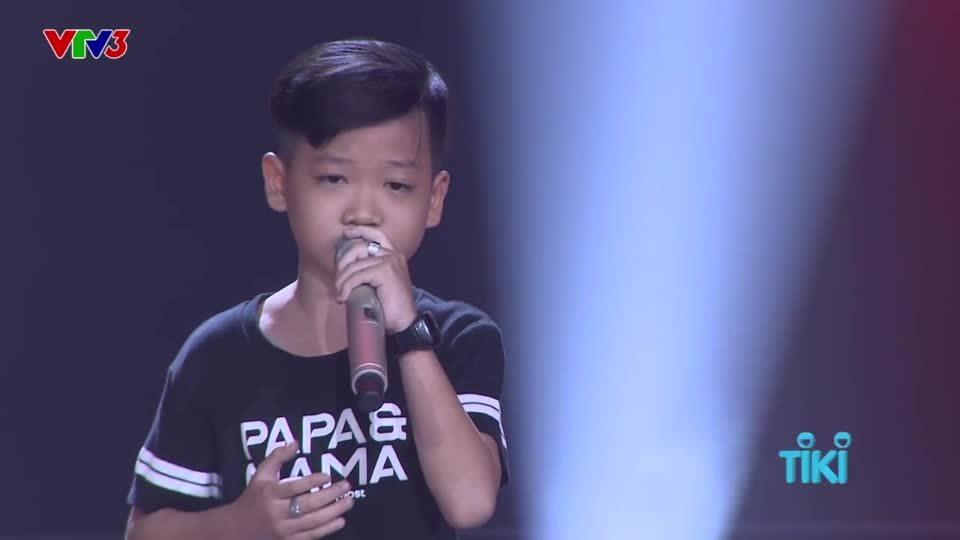 Khán giả nhí được gọi lên sân khấu thử giọng, trở thành thí sinh The Voice