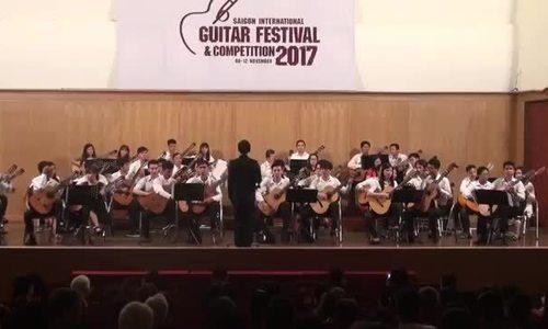 Hòa tấu guitar 'A Round for the World' tại Liên hoan SIGF năm 2017