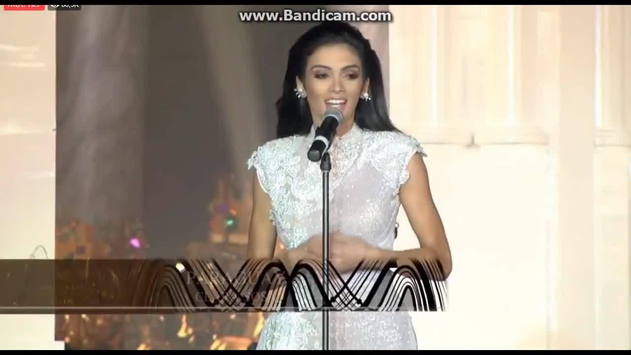 Người đẹp Paraguay trả lời ứng xử Miss Grand