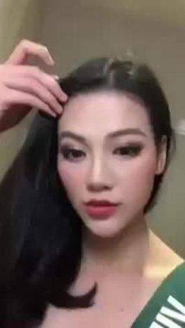 Phương Khánh giành HCV 'Trang phục dạ hội' tại Miss Earth