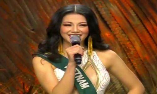 Á hậu Phương Khánh trả lời ứng xử tại Miss Earth 2018