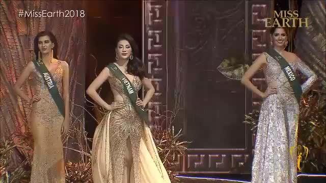 Công bố Top 3 tại Miss Earth 2018