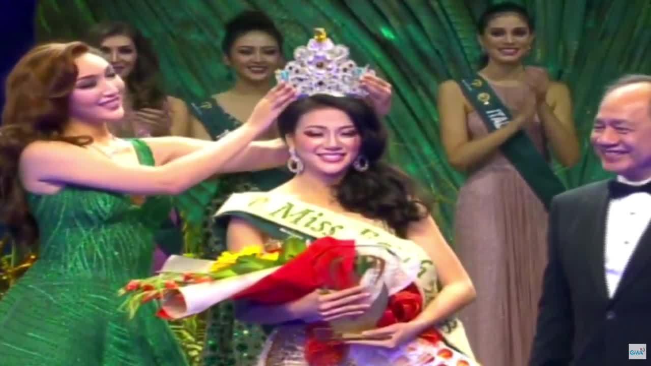Đại diện Việt Nam trở thành hoa hậu Miss Earth 2018