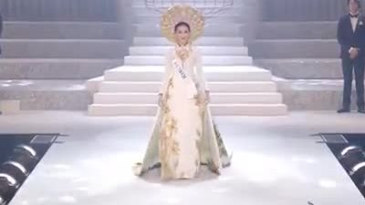 Ba phần thi của Thùy Tiên tại Hoa hậu Quốc tế 2018
