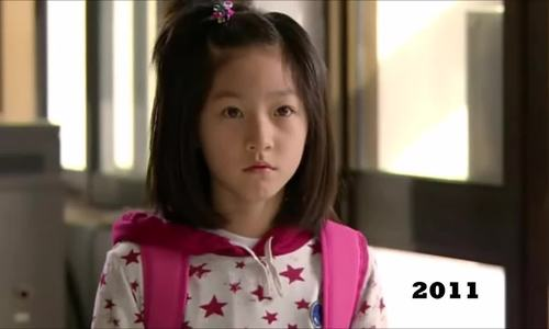 Biến đổi nhan sắc của Kim Sae Ron