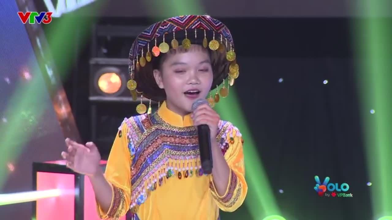 Thí sinh The Voice Kids hát dân ca