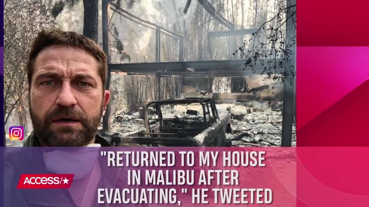 Sao Hollywood mất nhà vì hỏa họa ở California