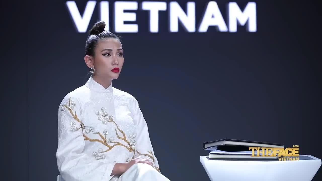 Võ Hoàng Yến ở The Face 2018