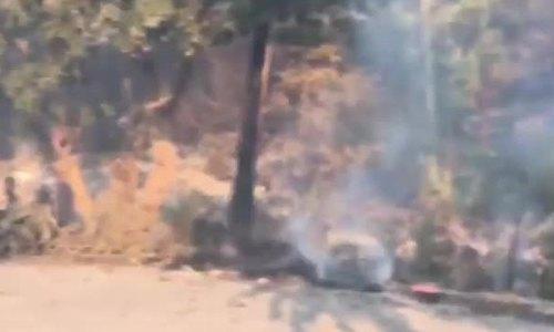 Nhà David Chokachi sau vụ cháy