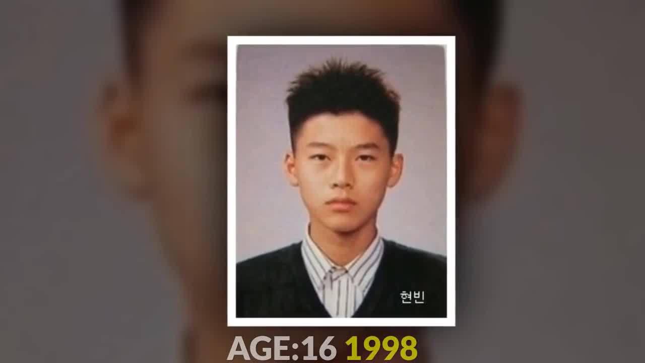 Biến đổi ngoại hình của Hyun Bin